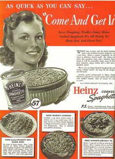 Heinz Spaghetti (1941).