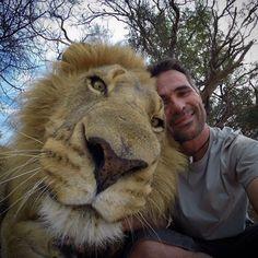 Kevin Richardson and Royal friend - via http://instagram.com/p/t3HVxiR39p/