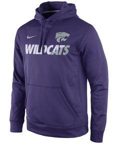 Nike Men's Kansas State Wildcats Sideline Ko Hoodie