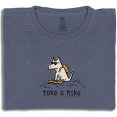 Take a hike teddy the dog