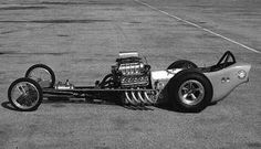 Dragster from the American Graffiti movie