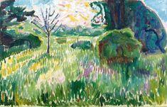 'Morning in the Garden' Edvard Munch, 1911-1912 Media Tweets by Jan (@geminicat7) | Twitter