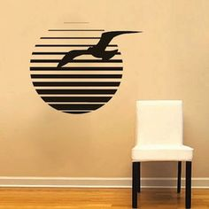 Sea Gull Wall Decal & Vinyl Wall Murals From Trendy Wall Designs