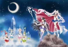 Sailor Senshi of the future.
