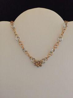 Handmade Chain Maille Necklace  #Handmade #Chain