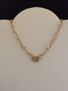 Handmade Chain Maille Necklace  #Handmade #Chain