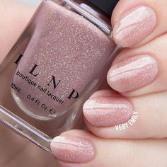 Our gorgeous peach-beige jelly Sandy Baby worn by @veryemily! Available this Friday on ILNP.com! #ILNPSandyBaby