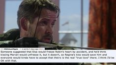 """Or Robin Hood will be the one who needs saving, and whoever can break Elsa's spell will be his real true love. 