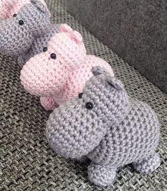 ⬇ PATTERN hippo soft toy