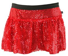 Are you looking for a costume for a Christmas race? Sparkle Athletic has you covered! This junior red sparkle running skirt is the perfect bottom for a holiday themed run.
