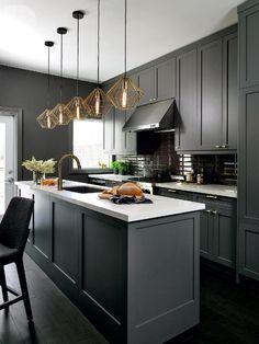 15 Stunning Gray Kitchens Kitchens Pinterest Grey Kitchen
