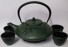 Bamboo Design Tea Set