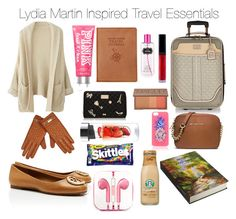 """""""Teen Wolf - Lydia Martin Inspired Travel Essentials"""" by staystronng ❤ liked on Polyvore"""