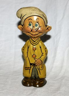 "DISNEY1938 WORKING ""DOPEY TIN WIND-UP TOY"" BY MARX"