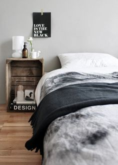 Design, Furniture and Decorating Ideas home-furniture. - Design, Furniture and Decorating Ideas home-furniture. Cosy Bedroom, Bedroom Decor, Master Bedroom, Let's Go To Bed, Decoracion Low Cost, Bedroom Styles, Wooden Boxes, Home Interior Design, House Design