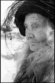 A beautiful clear-eyed Crone. (Barbara A. Diener photographe)r