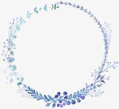 Bleu,élégant,Bleu clair,Peint à la main,Aquarelle,Couronne
