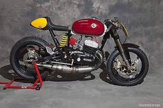 "Bultaco Mercurio ""Clandestina"" by XTR Pepo on http://rocket-garage.blogspot.com/2016/05/illegal-mercury-xtr.html #caferacer  #bultaco #twostroke #motorbike @xtrpepo"