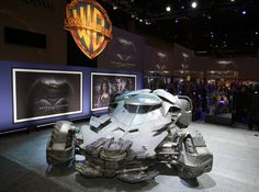 Batmobile Batman v Superman Design and Pictures