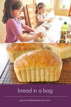 Bread in a bag. Making Bread in a Bag is going to become a favorite activity! Little kids and big kids alike will love making their own loaf of bread. Bread Recipes, Cooking Recipes, Cooking Ideas, Peeps Recipes, Chicken Recipes, Ramen Recipes, Carrot Recipes, Cabbage Recipes, Avocado Recipes