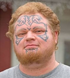 96b0f4a77a11a Pics Photos - Stupid Face Tattoos 24 Worlds Worst Tattoos, Facial Tattoos,  Creative Tattoos