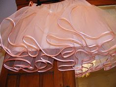 Petticoat tutorial and tips for gathering tulle... oh I love tulle!