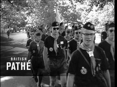 4th Boy Scout Jamboree In USA (1957)
