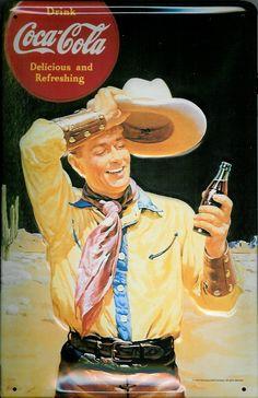 Google Imag...metalsigns Coca-Cola-Cowboy
