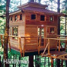 Tree House – Building Tips   The Family Handyman