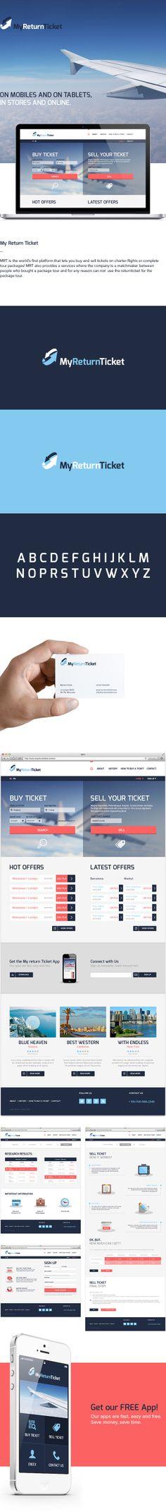 My Return Ticket by KEJJO , via Behance