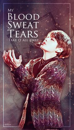 V (Kim Taehyung) of BTS - Blood,Sweat & Tears [Wallpaper & Lockscreen]