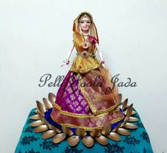 #wedding #dolls #jayaflowerjewellery #anooflowerjewellery #pellipoolajada