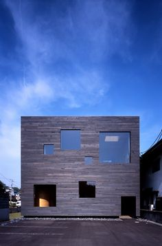 Mori x Hako House, Fukuyama-city, Hiroshima, Japan by UID Architects.