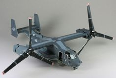 Check out our build review of the Hasegawa 1/72 CV-22B Osprey 'U.S. Air Force' kit