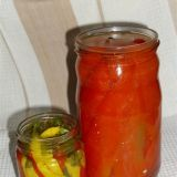 Kisele paprike-fileti i ljuti feferoni