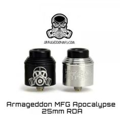 New Apocalypse Armageddon MFG – - Ηλεκτρονικό Τσιγάρο - Electronicsmoke
