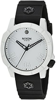 Men's Wrist Watches - Nixon Mens Ranger 40 SW IP Quartz Stainless Steel and Silicone Automatic Watch ColorBlack Model A468SW2243 ** Check out the image by visiting the link.