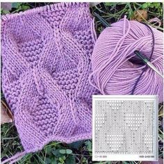 Knitting texture pattern 27 Ideas for 2019 Knitting Paterns, Cable Knitting, Knitting Charts, Knitting Designs, Knit Patterns, Knitting Projects, Stitch Patterns, Crochet Yarn, Crochet Stitches