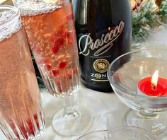 Cleo Coyle Recipes.com: Pomegranate Champagne Cocktail and 10 Lucky Foods for the New Year