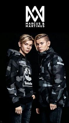 Marcus and Martinus wallpaper 🖤💫 Cute Twins, Cute Boys, Marcus Y Martinus, Mike Singer, Famous Twins, Bae, M Wallpaper, Bars And Melody, Dream Boyfriend