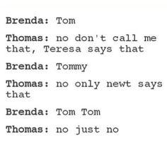 thomas be like hell no xD