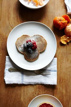 Chestnut Pancakes | Breakfast Ideas | Julia Gartland for Camille Styles. The recipes look AMAZING.