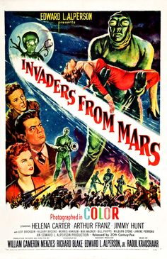 Invaders from Mars.......loved this movie as a kid.