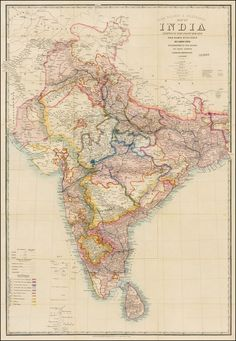 191 Best Old maps of India images in 2019 | India map, Old