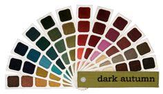 Dark Autumn | The Indigo Tones Personal Color Plume™