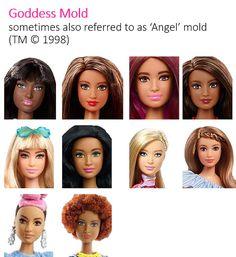 Barbie Fashionistas Head Molds Faces 2014 - 2018 : The faces of Barbie Fashionistas Girls 2014 - 2018 The faces of Barbie Fashionistas Girls 2014 - 2018 Diy Barbie Clothes, Barbie Toys, Barbie Life, Barbie Fashionista, Barbie Images, Face Mold, Bratz Doll, Barbie Friends, Vintage Barbie