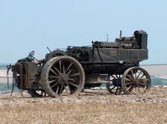 Crazy Antique Steam Tractor thing