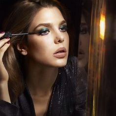 #CharlotteCasiraghi and the new Infinite Length Mascara by #Gucci Beauty