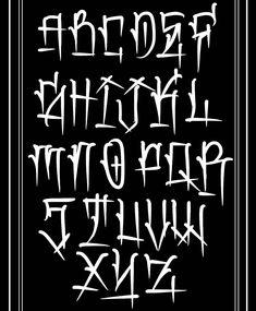 Graffiti Lettering Alphabet, Chicano Lettering, Graffiti Font, Graffiti Drawing, Graffiti Artists, Tattoo Lettering Styles, Lettering Design, Tattoo Script, Design Letters