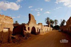 وادي الشاطي براك القديمة  القصر